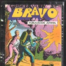 Tebeos: PUBLICACION JUVENIL BRAVO. AÑO I. Nº 18. INSPECTOR DAN. 9. ¡'MANOS SILENCIOSAS' ATACA!. Lote 55810688