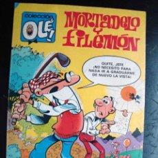 Tebeos: COMIC - TEBEO - OLE, BRUGUERA - MORTADELO Y FILEMON - 1981. Lote 40977112
