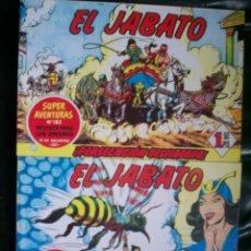 Tebeos: LOTE 30 TEBEOS/CÓMIC DE EL JABATO BRUGUERA REEDICIÓN/FACSÍMIL NUEVOS ENCUADERNADOS TOMO Nº 3-4. Lote 184626625