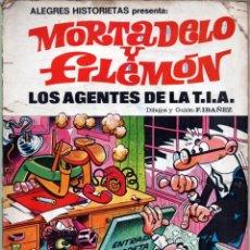 Tebeos: ALEGRES HISTORIETAS Nº 3 MORTADELO Y FILEMON LOS AGENTES DE LA T.I.A. 1ª ED 1981. Lote 41055688