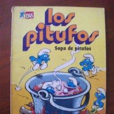 Tebeos: LOS PITUFOS Nº 10 SOPA DE PITUFOS EDITORIAL BRUGUERA . Lote 41064923
