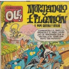 Tebeos: CÓMIC COL.OLÉ! -MORTADELO Y FILEMÓN- Nº 276, 1ª ED. 1983 (120 PTS.) . Lote 41100008