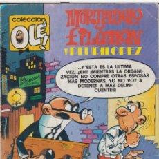 Tebeos: CÓMIC COL.OLÉ! -MORTADELO Y FILEMÓN- Nº 198, 3ª ED. 1985 (150 PTS.) . Lote 41100290