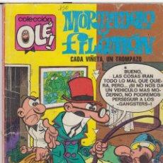 Tebeos: CÓMIC COL.OLÉ! -MORTADELO Y FILEMÓN- Nº 86-M14 ED.B, 7ª ED. 1987 (200 PTS.) . Lote 41100768