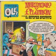 Tebeos: CÓMIC COL.OLÉ! -MORTADELO Y FILEMÓN- Nº 226-M23 ED.B, 2ª ED. 1987 (200 PTS.) . Lote 41100821