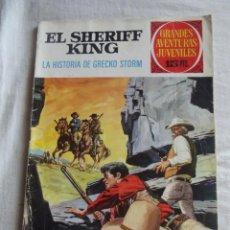 Tebeos: GRANDES AVENTURAS JUVENILES - EL SHERIFF KING - LA HISTORIA DE GRECKO STORM Nº 20. Lote 41113412
