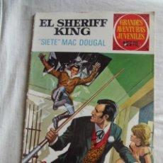 Tebeos: GRANDES AVENTURAS JUVENILES - EL SHERIFF KING - SIETE MAC DOUGAL Nº 22. Lote 41113776