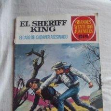 Tebeos: GRANDES AVENTURAS JUVENILES - EL SHERIFF KING - EL CASO DEL CADAVER ASESINADO Nº 38. Lote 41117842