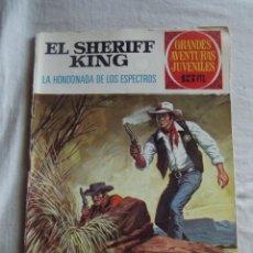 Tebeos: GRANDES AVENTURAS JUVENILES - EL SHERIFF KING - LA HONDONADA DE LOS ESPECTROS Nº 48. Lote 41118096