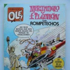 Tebeos: COLECCION OLE 290 - MORTADELO Y FILEMON PRIMERA 1ª EDICIÓN 1984 COMIC DE EDITORIAL BRUGUERA IBAÑEZ. Lote 41225475