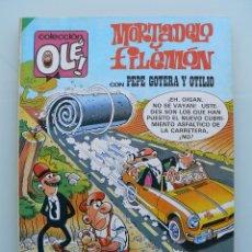 Tebeos: COLECCION OLE 286 - MORTADELO Y FILEMON PRIMERA 1ª EDICIÓN 1984 COMIC DE EDITORIAL BRUGUERA IBAÑEZ. Lote 41225626