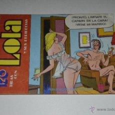 Tebeos: 120 TIRAS CON LAS AVENTURAS DE LOLA-Nº26. Lote 41273107