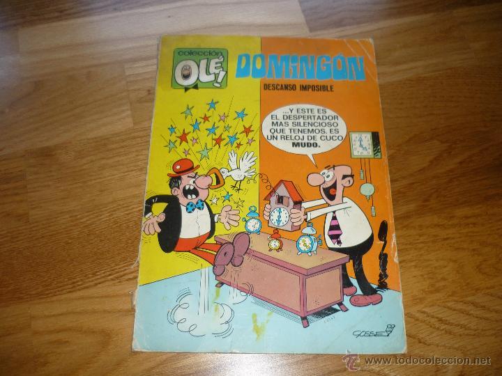 COLECCION OLE Nº 20 DOMINGON DESCANSO IMPOSIBLE BUEN PRECIO (Tebeos y Comics - Bruguera - Ole)