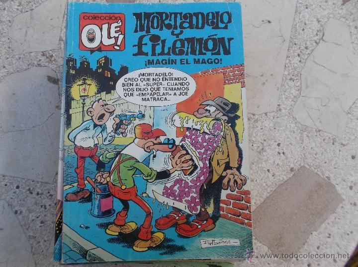 OLE MORTADELO Y FILEMON, Nº 89-M 17, MAGIN EL MAGO,EDICIONES-B , 2 EDICION-91 (Tebeos y Comics - Bruguera - Ole)