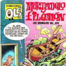 Tebeos: COMIC OLÉ! -MORTADELO Y FILEMÓN- Nº 112-M2 FRMTO.ORGNAL.5ª ED.1987 EDCNES.-B-. Lote 41335761