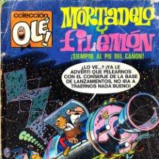 Tebeos: COMIC OLÉ! -MORTADELO Y FILEMÓN- Nº 141 FRMTO.ORGNAL.4ª ED.1985 EDITORIAL.BRUGUERA-. Lote 41335827