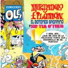 Tebeos: COMIC OLÉ! -MORTADELO Y FILEMÓN- Nº 166 FRMTO.ORGNAL.3ª ED.1985 EDITORIAL.BRUGUERA-. Lote 41335872