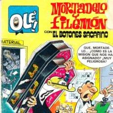 Tebeos: COMIC OLÉ! -MORTADELO Y FILEMÓN- Nº 257 FRMTO.ORGNAL.1ª ED.1983 EDITORIAL.BRUGUERA-. Lote 41335985