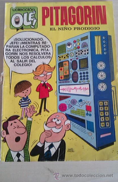 COLECCIÓN OLÉ PITAGORÍN Nº 47 1ª ED 1972 Nº EN LOMO ED BRUGUERA (Tebeos y Comics - Bruguera - Ole)