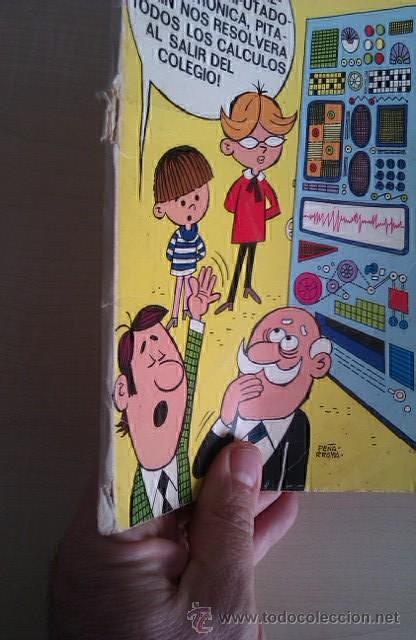 Tebeos: Colección Olé Pitagorín nº 47 1ª ed 1972 nº en lomo Ed BRUGUERA - Foto 2 - 41370412