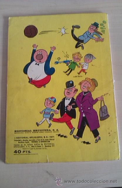 Tebeos: Colección Olé Pitagorín nº 47 1ª ed 1972 nº en lomo Ed BRUGUERA - Foto 4 - 41370412