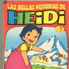 Tebeos: TEBEOS-COMICS CANDY - LAS BELLAS HISTORIAS DE HEIDI - Nº 7 - BRUGUERA - AVENTURA COMPLETA *DD99. Lote 41389084