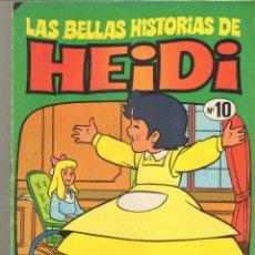 Tebeos: TEBEOS-COMICS CANDY - LAS BELLAS HISTORIAS DE HEIDI - Nº 10 - BRUGUERA - AVENTURA COMPLETA *XX99. Lote 41389147