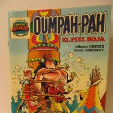 Tebeos: OUMPAH-PAH Nº 2 EL PIEL ROJA. COLECCION SUPER BRAVO. ED. BRUGUERA 1982. POR LOS CREADORES DE ASTERIX. Lote 41395119