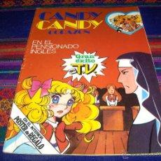 Tebeos: CANDY CANDY CORAZÓN Nº 15 CON PÓSTER. EN EL PENSIONADO INGLÉS. BRUGUERA 1ª ED. 1985. BE. DIFÍCIL. Lote 41397829