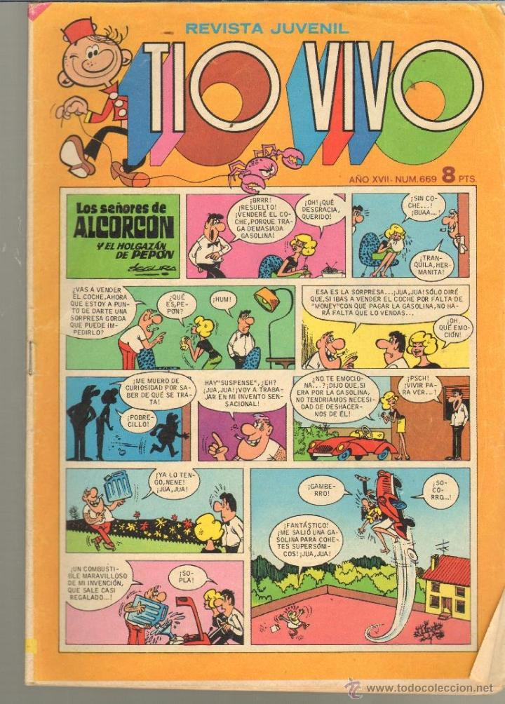 TEBEOS-COMICS CANDY - TIO VIVO - BRUGUERA - Nº 669 - DANI FUTURO *BB99 (Tebeos y Comics - Bruguera - Tio Vivo)