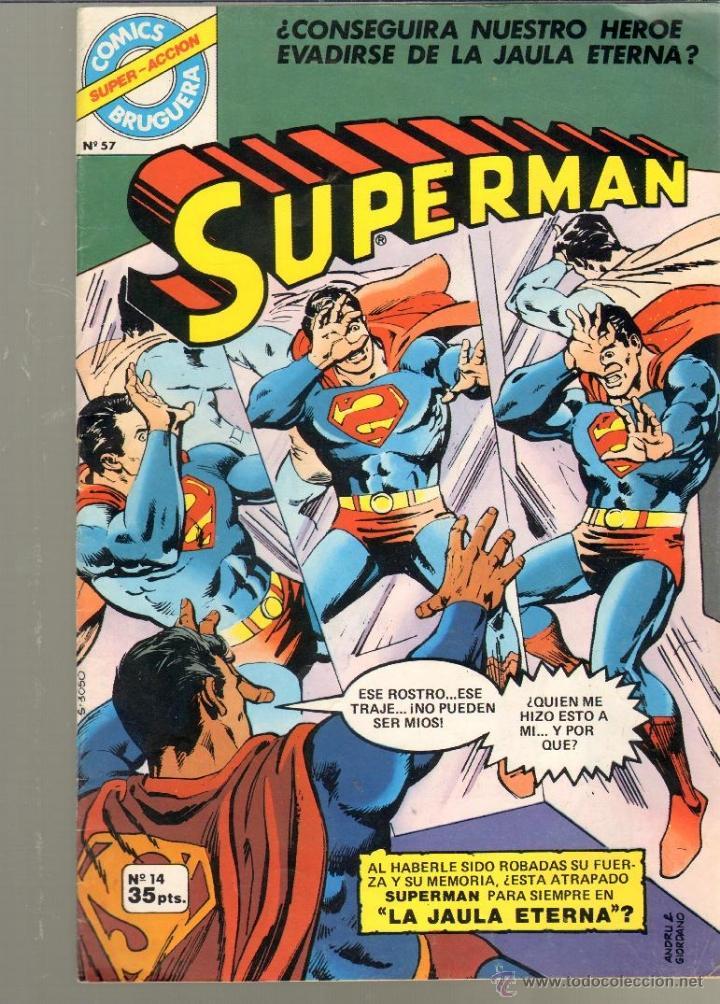 TEBEOS-COMICS CANDY - SUPERMAN - BRUGUERA - Nº 14 - *AA99 (Tebeos y Comics - Bruguera - Otros)