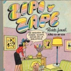 Tebeos: TEBEOS-COMICS CANDY - ZIPI Y ZAPE - BRUGUERA - Nº 528 - *XX99. Lote 41428406