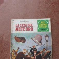 Tebeos: JOYAS LITERARIAS JUVENILES Nº 193: LA CAZA DEL METEORO; JULIO VERNE. Lote 156881493