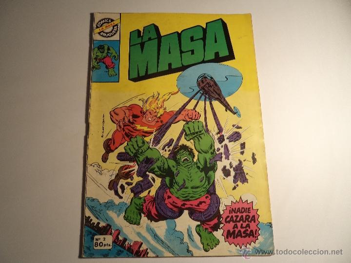 LA MASA. Nº 2. BRUGUERA (Tebeos y Comics - Bruguera - Cuadernillos Varios)