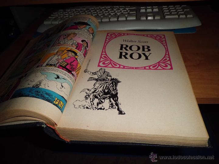 Tebeos: tomo encuardenado con 25 fasciculos de joyas literarias años 1970 71 72 leer descripcion - Foto 2 - 41488114