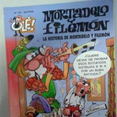 Tebeos: MORTADELO Y FILEMON EN LA HISTORIA DE MORTADELO Y FILEMON DE EDICIONES B- Nº 107-1º EDICION 1995. Lote 41489276