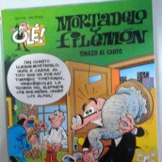 Tebeos: MORTADELO Y FILEMON EN TIMAZO AL CANTO - DE EDICIONES B Nº 119-1º EDICION 1995. Lote 41489319