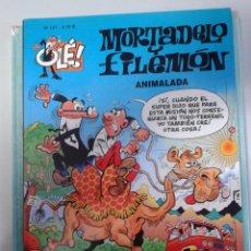Tebeos: MORTADELO Y FILEMON EN ANIMALADA DE EDICIONES B Nº 127- 1ª EDICION 1995. Lote 41489382