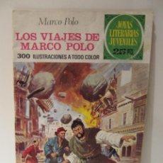 Tebeos: JOYAS LITERARIAS JUVENILES Nº 166 1ª EDICION LOS VIAJES DE MARCO POLO ED. BRUGUERA 1976. Lote 41508189