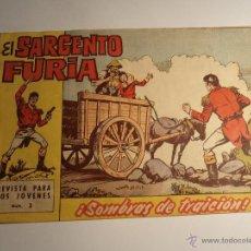 Tebeos: EL SARGENTO FURIA. Nº 3. BRUGUERA. . Lote 41527719
