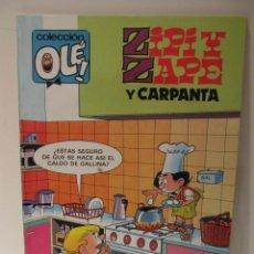 Tebeos: COLECCIÓN OLÉ. ZIPI Y ZAPE Y CARPANTA Nº 277-Z18 ED B 1987. Lote 41551734
