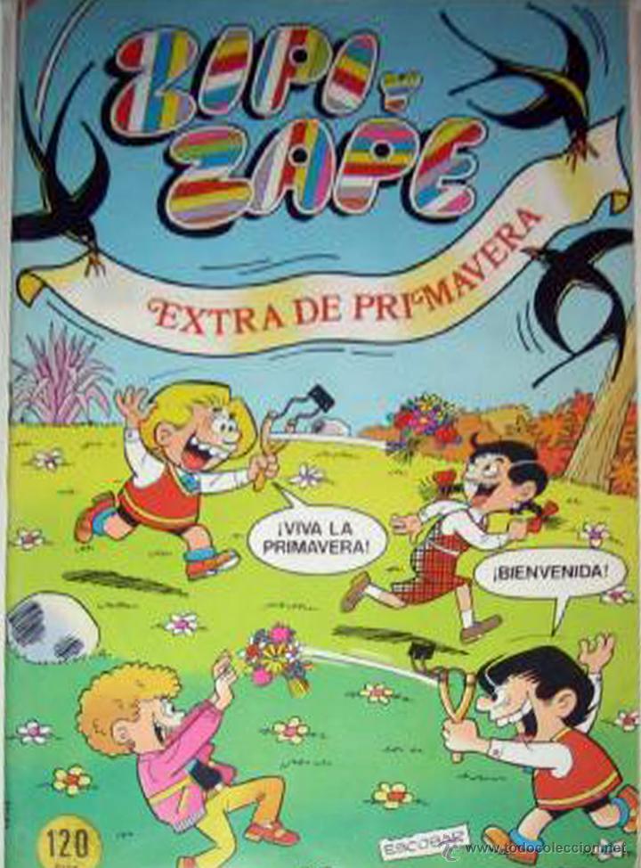 COMIC ZIPI Y ZAPE EXTRA PRIMAVERA AÑO XIV NUEVO (Tebeos y Comics - Bruguera - Otros)