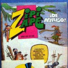 Tebeos: COMIC ZIPI Y ZAPE EXTRA DE ABRIGO Nº 146 NUEVO AÑO XIV. Lote 41576131