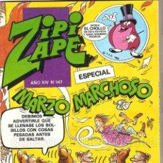 Tebeos: COMIC ZIPI Y ZAPE EXTRA MARZO MARCHOSO Nº 147 NUEVO AÑO XIV. Lote 41576183