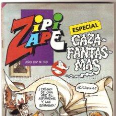 Tebeos: COMIC ZIPI Y ZAPE EXTRA CAZAFANTASMAS Nº 149 NUEVO AÑO XIV. Lote 135479894