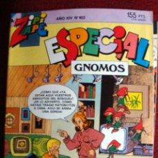 Tebeos: COMIC ZIPI Y ZAPE EXTRA GNOMOS Nº 163 NUEVO AÑO XIV. Lote 41576394