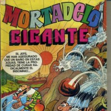 Tebeos: MORTADELO GIGANTE Nº 10 (1976) CON AVENTURA COMPLETA DE BOB MORANE. Lote 41670528