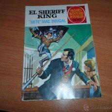Tebeos: GRANDES AVENTURAS JUVENILES Nº 22 EL SHERIFF KING EDITORIAL BRUGUERA . Lote 41786374