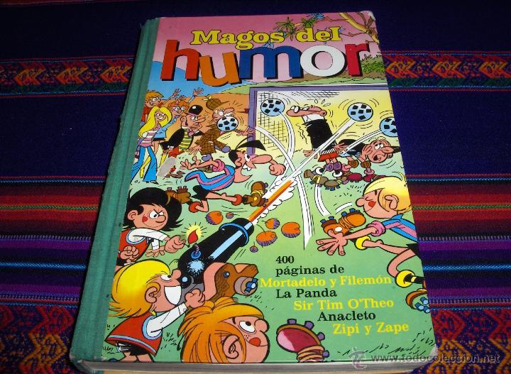 MAGOS DEL HUMOR Nº XIV. BRUGUERA 1973. LA PANDA, SIR TIM O'THEO, ANACLETO, ZIPI Y ZAPE, MORTADELO... (Tebeos y Comics - Bruguera - Super Humor)