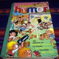 Tebeos: MAGOS DEL HUMOR Nº XIV 14 BRUGUERA 1973. LA PANDA, SIR TIM O'THEO, ANACLETO. REGALO Nº XIX 19.. Lote 41800812